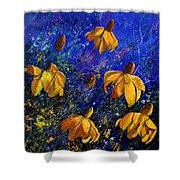 Rudbeckia's Shower Curtain by Pol Ledent
