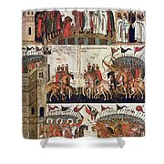 Russia: Novgorod Shower Curtain by Granger