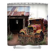 Rusted Classic Shower Curtain by Perry Webster
