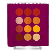 Saffron Colors Shower Curtain by Frank Tschakert