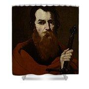 Saint Paul  Shower Curtain by Jusepe de Ribera