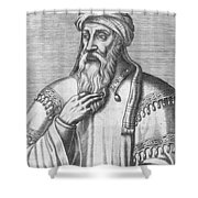 Saladin, Sultan Of Egypt And Syria Shower Curtain by Photo Researchers
