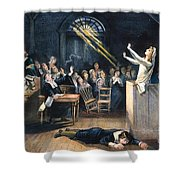 Salem Witch Trial, 1692 Shower Curtain by Granger