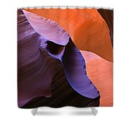 Sandstone Apparition Shower Curtain by Mike  Dawson