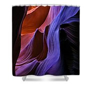 Sandstone Cascade Shower Curtain by Mike  Dawson