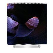 Sandstone Portal Shower Curtain by Mike  Dawson