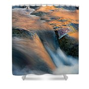 Sandstone Reflections Shower Curtain by Mike  Dawson