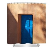 Santa Fe Portal Shower Curtain by Steve Gadomski