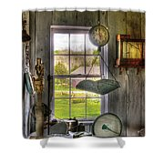 Scales - Scales Shower Curtain by Mike Savad