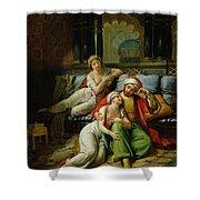 Scheherazade Shower Curtain by Paul Emile Detouche