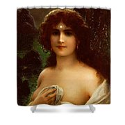Sea Nymph Shower Curtain by Emile Vernon
