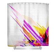 Seamless honeycomb pattern Shower Curtain by Setsiri Silapasuwanchai