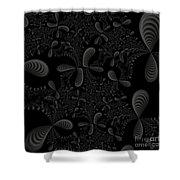 Seashells Shower Curtain by Candice Danielle Hughes