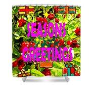 Seasons Greetings 10 Shower Curtain by Patrick J Murphy