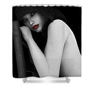 Secretive Lust Shower Curtain by Alexander Butler