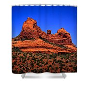 Sedona Rock Formations Shower Curtain by David Patterson