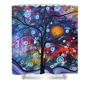 See The Beauty Shower Curtain by Megan Duncanson