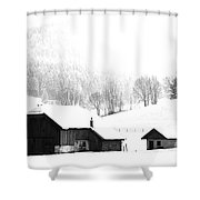 Seen Many Storms Shower Curtain by Sabine Jacobs