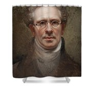 Self Portrait Shower Curtain by Rembrandt Peale