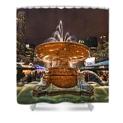 Serenade Me Shower Curtain by Evelina Kremsdorf