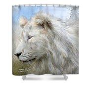 Serengeti Spirit Shower Curtain by Carol Cavalaris
