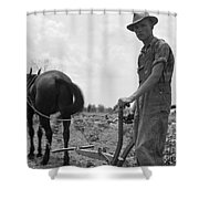 SHARECROPPERS SON, 1937 Shower Curtain by Granger