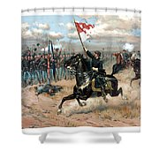 Sheridan's Ride Shower Curtain by War Is Hell Store