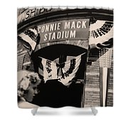 Shibe Park - Connie Mack Stadium Shower Curtain by Bill Cannon