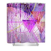 Shibumi Spirit Shower Curtain by John Robert Beck