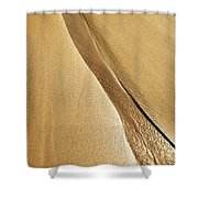 Shimmering Sand Shower Curtain by Brandon Tabiolo - Printscapes
