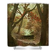 Sighs Of Love Shower Curtain by Laurie Search