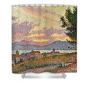 Signac: St Tropez, 1896 Shower Curtain by Granger
