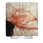 Silk And Thrill Shower Curtain by Sergey Ignatenko