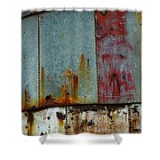 Silo Series 1 Shower Curtain by Skip Hunt