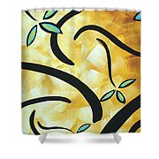Simply Glorious 2 By Madart Shower Curtain by Megan Duncanson