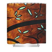 Simply Glorious 3 By Madart Shower Curtain by Megan Duncanson