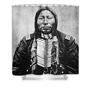 Sioux: Crow King Shower Curtain by Granger