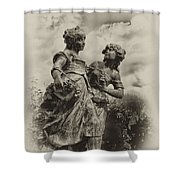 Sisters Shower Curtain by Bill Cannon