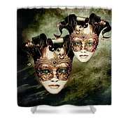 Sisters Shower Curtain by Photodream Art
