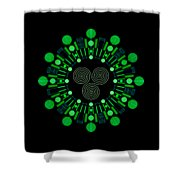 Sky Chief Color Shower Curtain by DB Artist