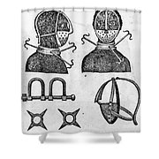 SLAVERY: IRONS, 1807 Shower Curtain by Granger
