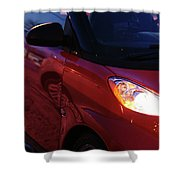 Smart Shower Curtain by Linda Knorr Shafer