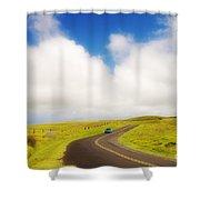 South Kohala Shower Curtain by Greg Vaughn - Printscapes