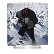 South Twin Mountain - White Mountains New Hampshire  Shower Curtain by Erin Paul Donovan