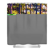 Southern Breeze Shower Curtain by Ben Kiger