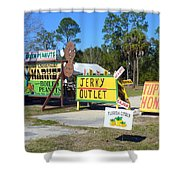 Southern Delights Shower Curtain by Carla Parris