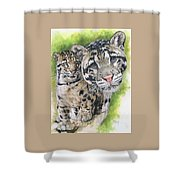 Sovereignty Shower Curtain by Barbara Keith