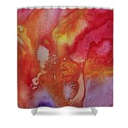 Speak To Me 1 By Madart Shower Curtain by Megan Duncanson