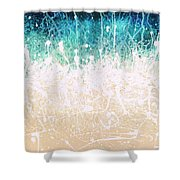 Splash Shower Curtain by Jaison Cianelli
