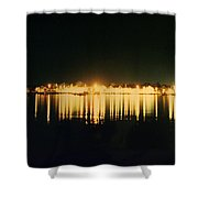 St. Augustine Lights Shower Curtain by Kenneth Albin